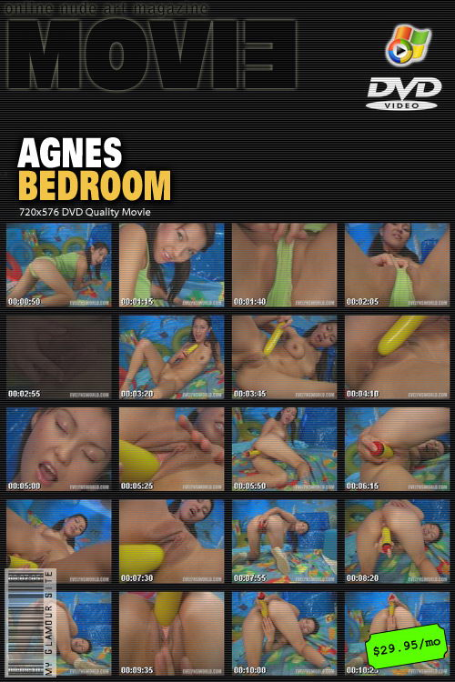 Agnes - `Bedroom` - by Tom Veller for MYGLAMOURSITE