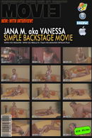 Jana M - Simple Backstage video with Interview