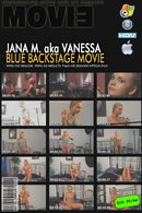 Jana M - Blue Backstage video