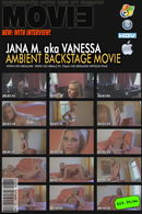 Jana M - Ambient Backstage Movie with Interview