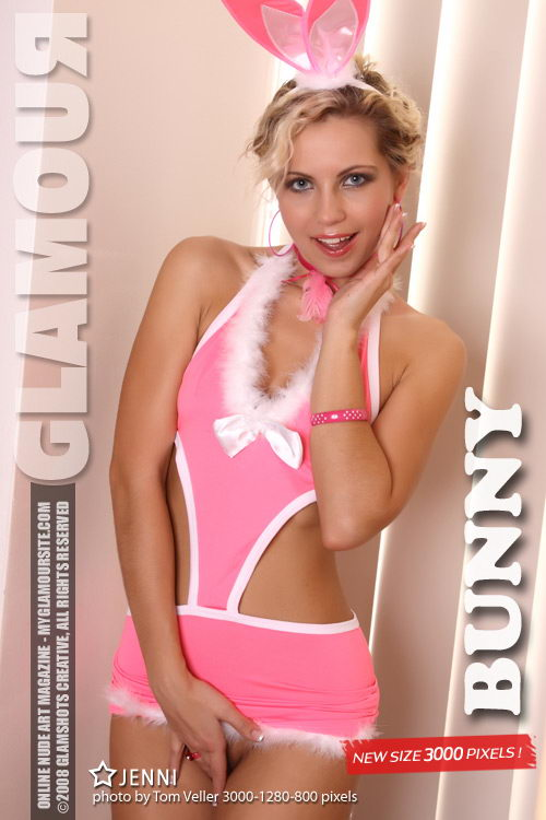 Jenni - `Bunny` - by Tom Veller for MYGLAMOURSITE