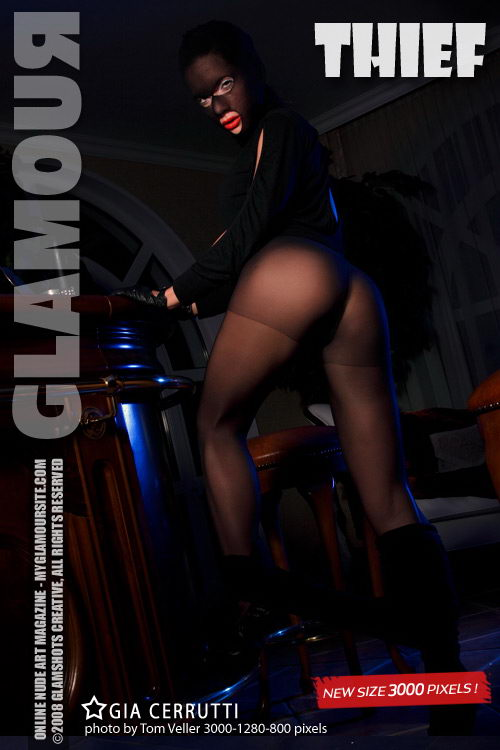 Gia Cerrutti - `Thief` - by Tom Veller for MYGLAMOURSITE
