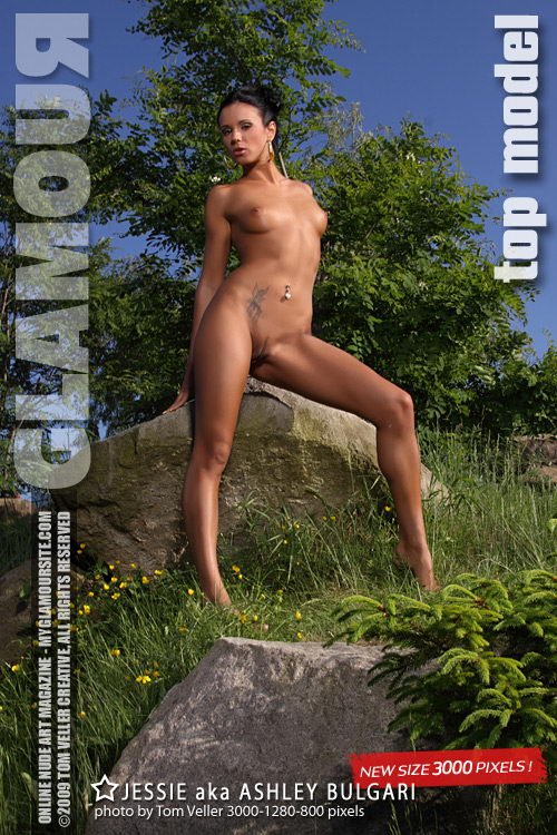 Ashley Bulgari - `Top Model` - by Tom Veller for MYGLAMOURSITE