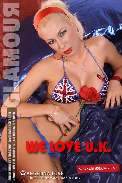 Angelina Love - `We Love UK` - by Tom Veller for MYGLAMOURSITE