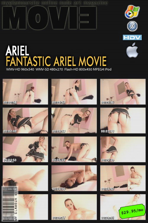 Ariel - `Fantastic Ariel` - by Tom Veller for MYGLAMOURSITE