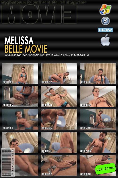 Melissa - `Belle` - by Tom Veller for MYGLAMOURSITE