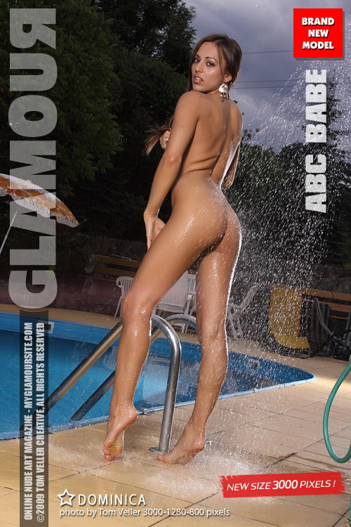 Dominica - `ABC Babe` - by Tom Veller for MYGLAMOURSITE