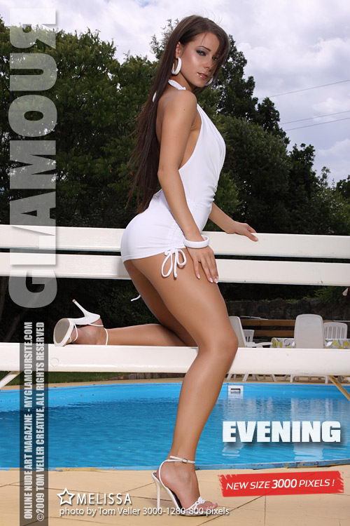 Melissa - `Evening` - by Tom Veller for MYGLAMOURSITE