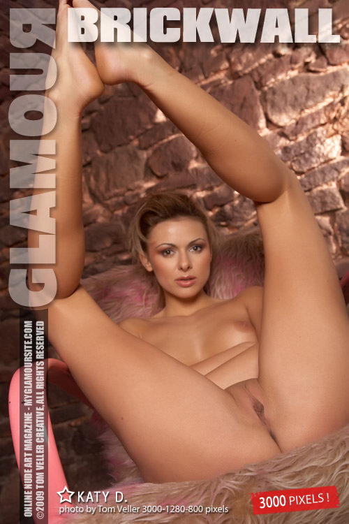 Katy D - `BrickWall` - by Tom Veller for MYGLAMOURSITE