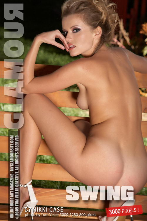 Nikki Case - `Swing` - by Tom Veller for MYGLAMOURSITE