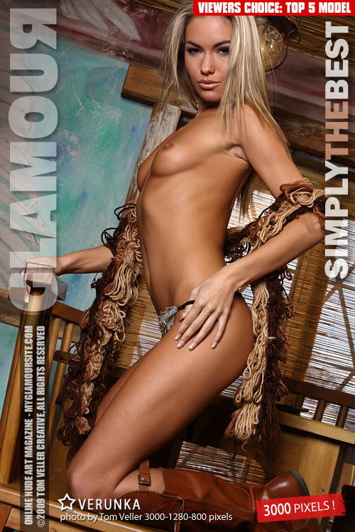 Verunka - `Simply the Best` - by Tom Veller for MYGLAMOURSITE