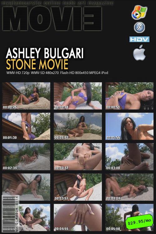 Ashley Bulgari - `Stone Movie` - by Tom Veller for MYGLAMOURSITE