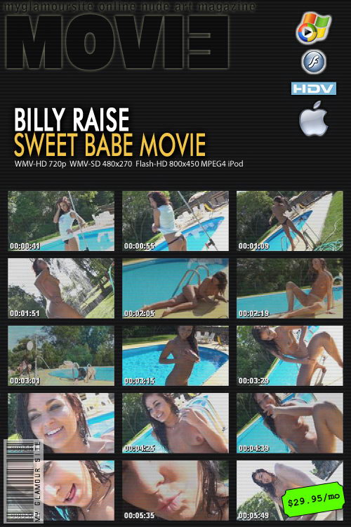 Billy Raise - `Sweet Babe` - by Tom Veller for MYGLAMOURSITE