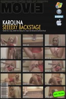 Karolina in Seeexy Backstage video from MYGLAMOURSITE by Tom Veller