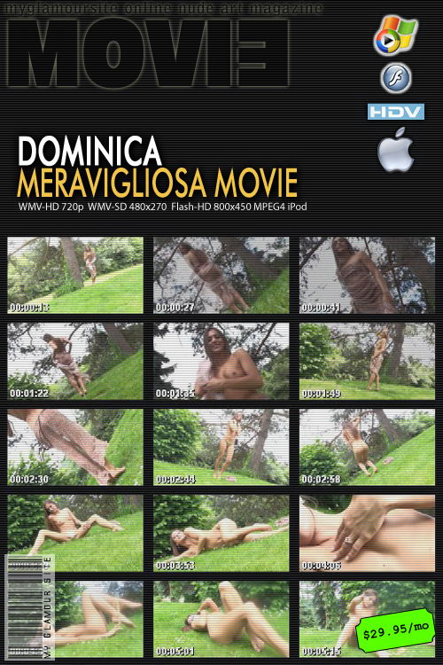 Dominica - `Meravigliosa` - by Tom Veller for MYGLAMOURSITE