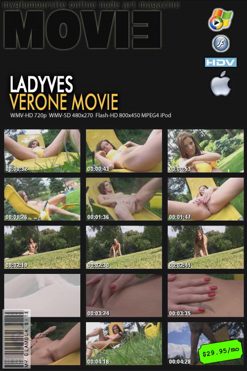 Lady Ves in Verone video from MYGLAMOURSITE by Tom Veller