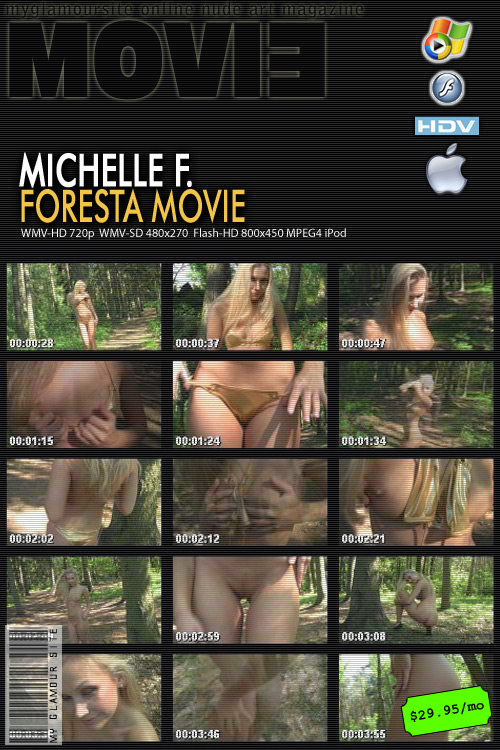 Michelle F - `Foresta` - by Tom Veller for MYGLAMOURSITE