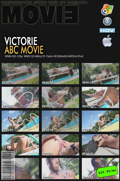 Victorie - `ABC Movie` - by Tom Veller for MYGLAMOURSITE