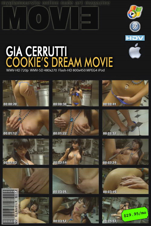 Gia Cerrutti - `Cookies Dream` - by Tom Veller for MYGLAMOURSITE