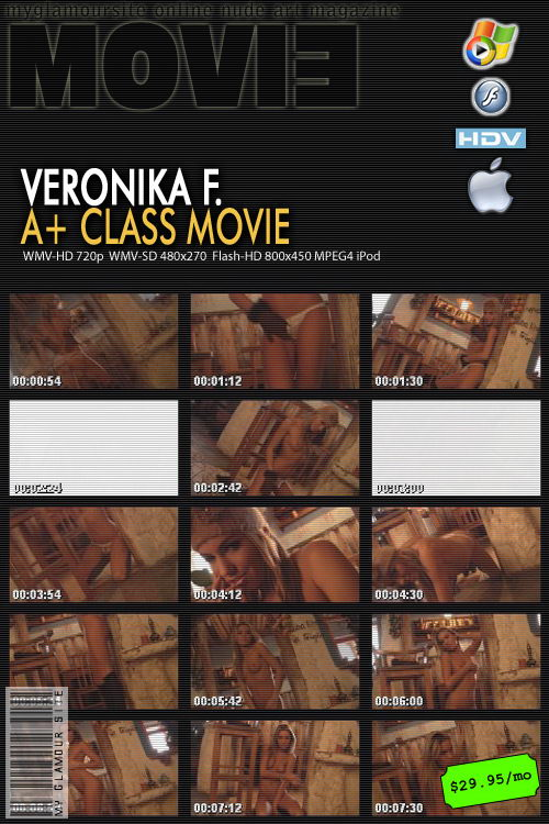 Veronika F - `A+ Class Movie` - by Tom Veller for MYGLAMOURSITE