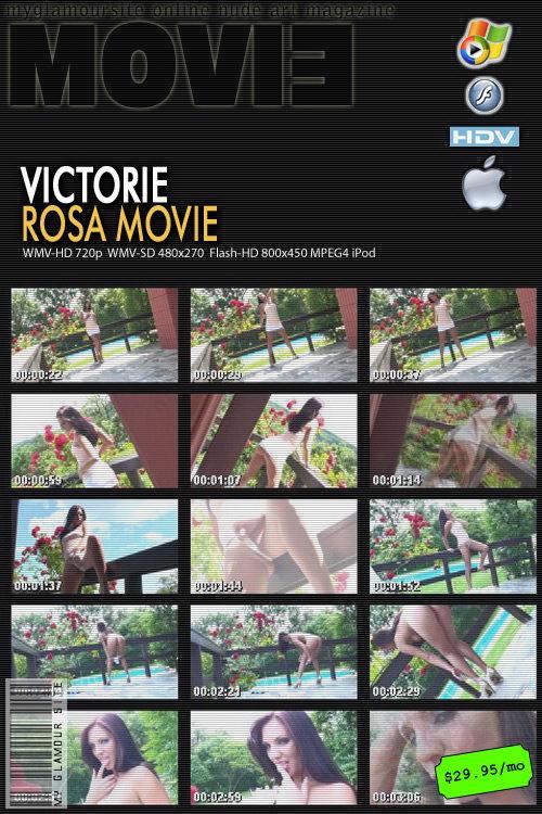 Victorie - `Rosa` - by Tom Veller for MYGLAMOURSITE