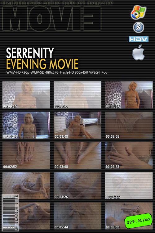 Serrenity - `Evening` - by Tom Veller for MYGLAMOURSITE