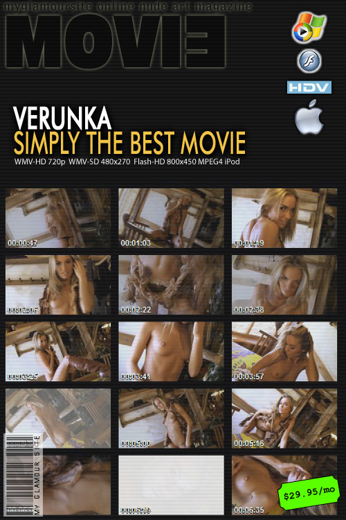 Veronika F - `Simply the Best` - by Tom Veller for MYGLAMOURSITE