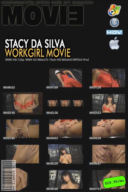 Stacy Da Silva in WorkGirl video from MYGLAMOURSITE by Tom Veller