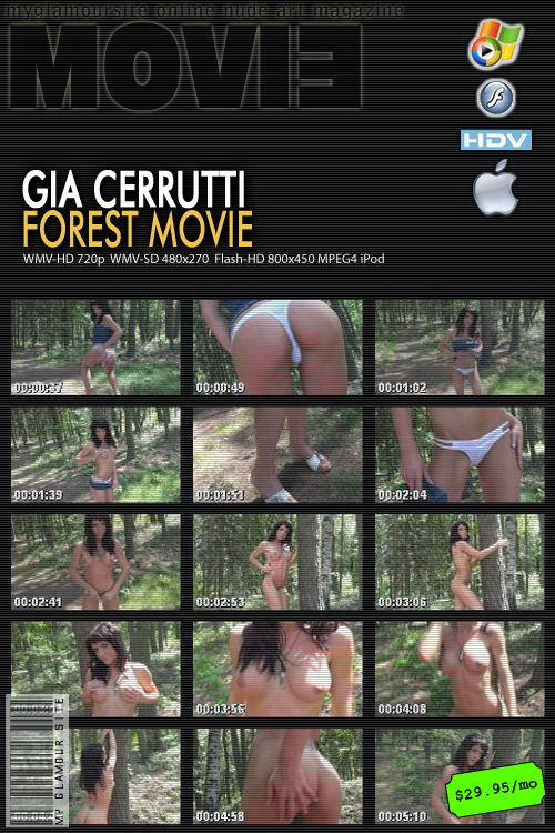 Gia Cerrutti - `Forest` - by Tom Veller for MYGLAMOURSITE