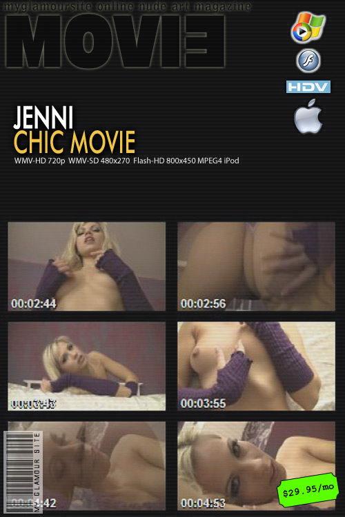 Jenni - `Chic` - by Tom Veller for MYGLAMOURSITE
