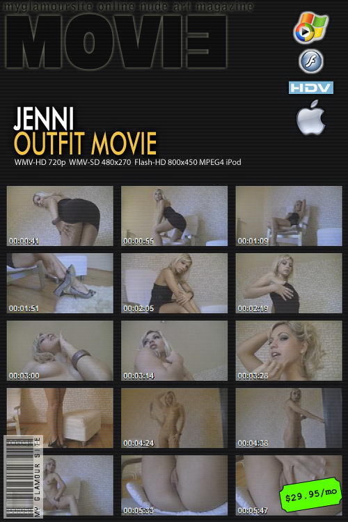 Jenni - `Outfit` - by Tom Veller for MYGLAMOURSITE