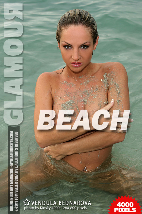 Vendula Bednarova - `Beach` - by Tom Veller for MYGLAMOURSITE