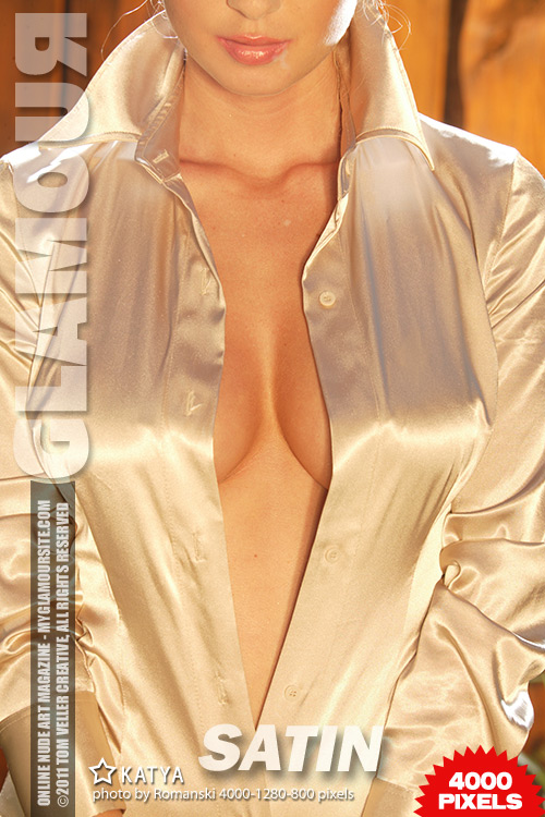Katya - `Satin` - by Tom Veller for MYGLAMOURSITE