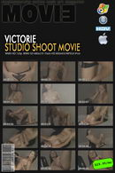 Victorie in Studio Shoot Movie video from MYGLAMOURSITE by Tom Veller