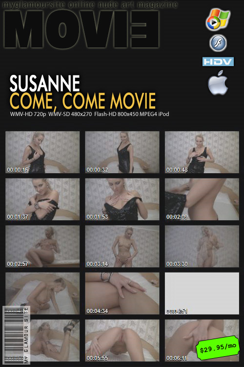 Susanne - `Come Come` - by Tom Veller for MYGLAMOURSITE