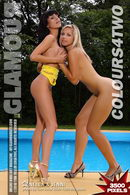 Nella & Jenni in Colours4Two gallery from MYGLAMOURSITE by Tom Veller