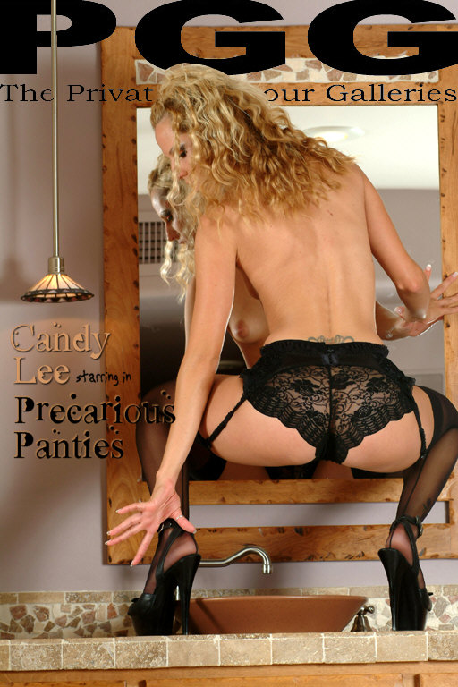 Candy Lee - `Precarious Panties` - for MYPRIVATEGLAMOUR