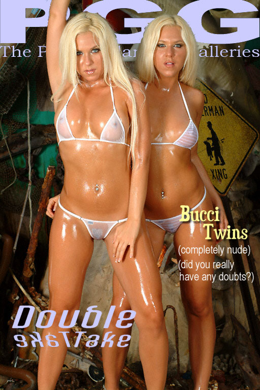 Bucci Twins - `Double Take` - for MYPRIVATEGLAMOUR