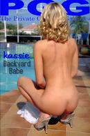 Kassie - Backyard Babe