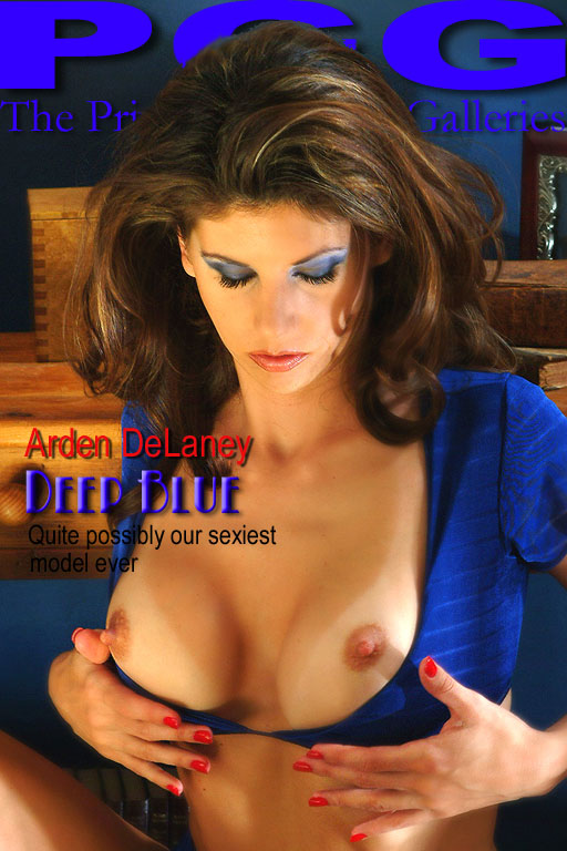 Arden Delaney - `Deep Blue` - for MYPRIVATEGLAMOUR