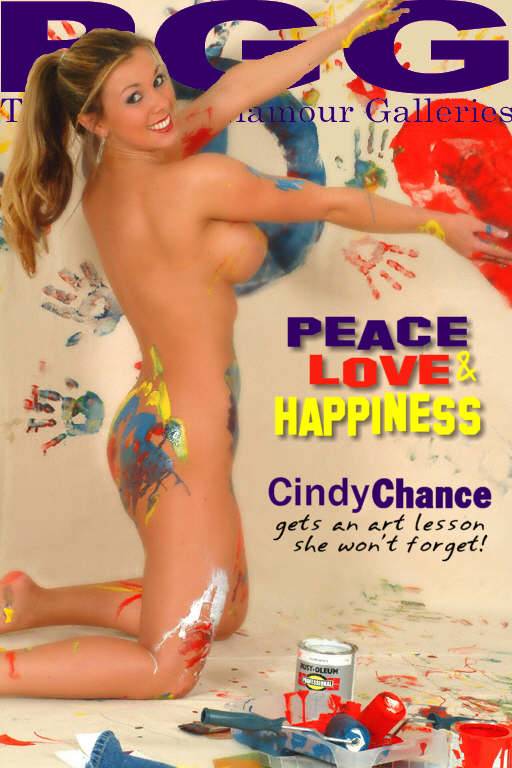 Cindy Chance - `Peace Love and Happiness` - for MYPRIVATEGLAMOUR
