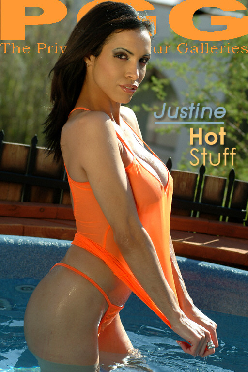 Justine - `Hot Stuff` - for MYPRIVATEGLAMOUR