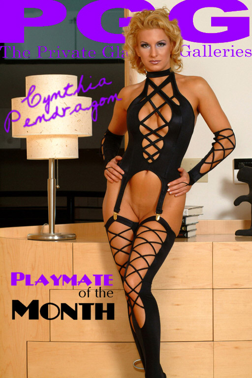 Cynthia Pendragon - `Playmate of the Month` - for MYPRIVATEGLAMOUR
