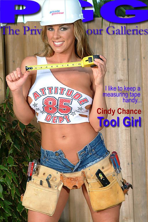 Cindy Chance - `Tool Girl` - for MYPRIVATEGLAMOUR