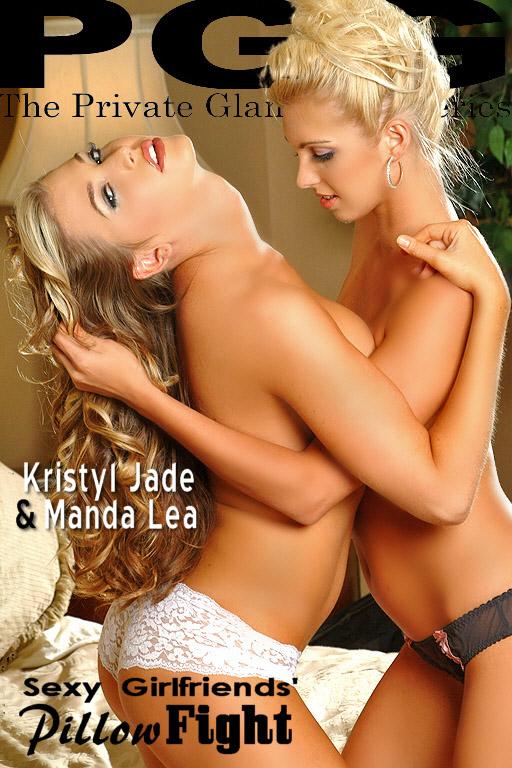 Kristyl Jade & Manda Lea - `Pillow Fight` - for MYPRIVATEGLAMOUR