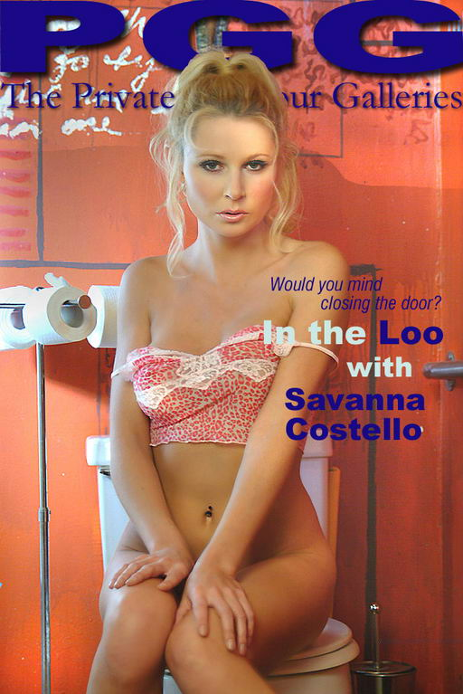 Savannah Costello - `In the Loo` - for MYPRIVATEGLAMOUR