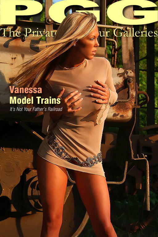 Vanessa - `Model Trains` - for MYPRIVATEGLAMOUR