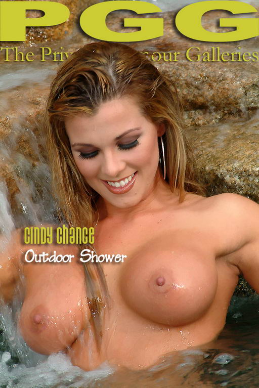 Cindy Chance - `Outdoor Shower` - for MYPRIVATEGLAMOUR