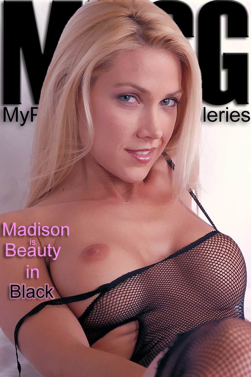Madison - `Beauty in Black` - for MYPRIVATEGLAMOUR