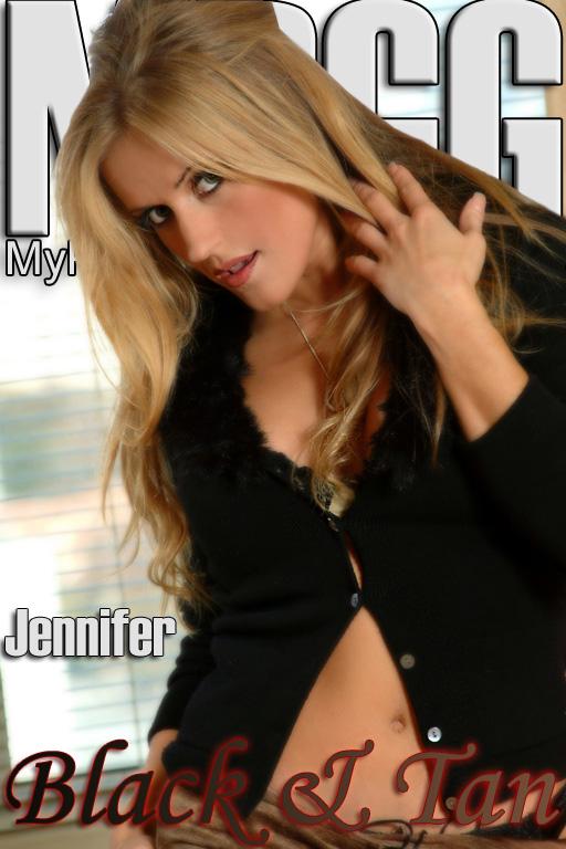 Jennifer - `Black and Tan` - for MYPRIVATEGLAMOUR